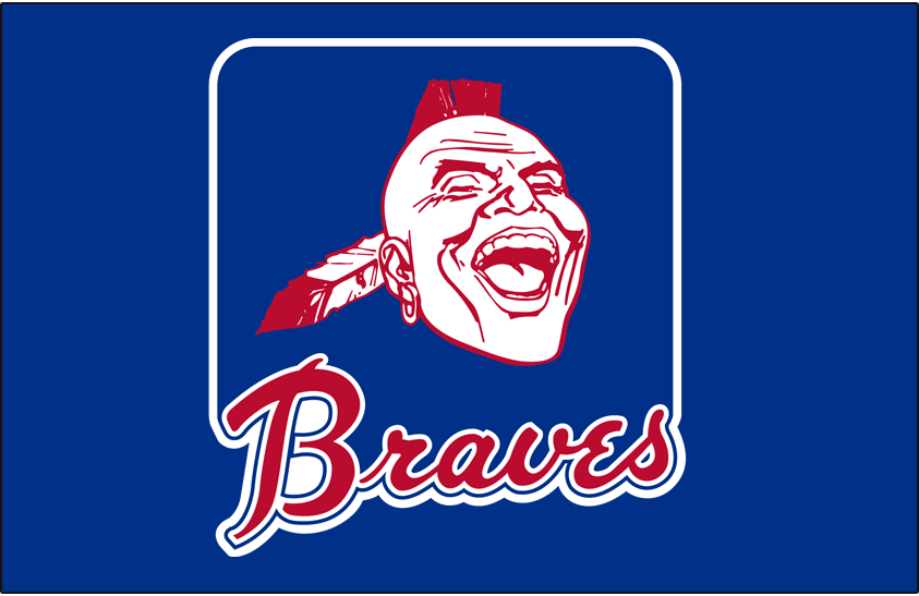 Atlanta Braves Logo Primary Dark Logo (1968-1984) -  SportsLogos.Net