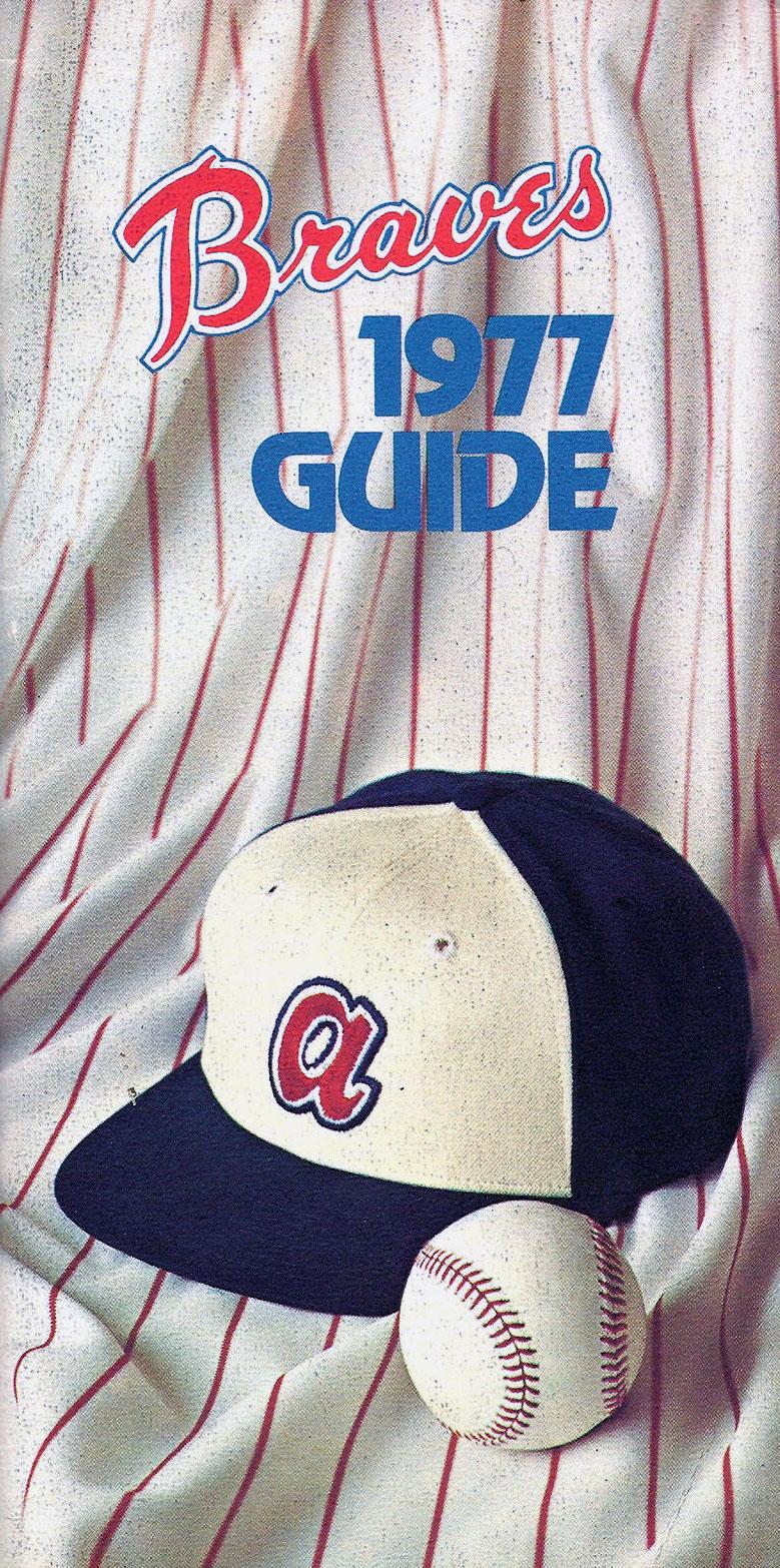 Atlanta Braves Media Guide Media Guide (1977) -  SportsLogos.Net