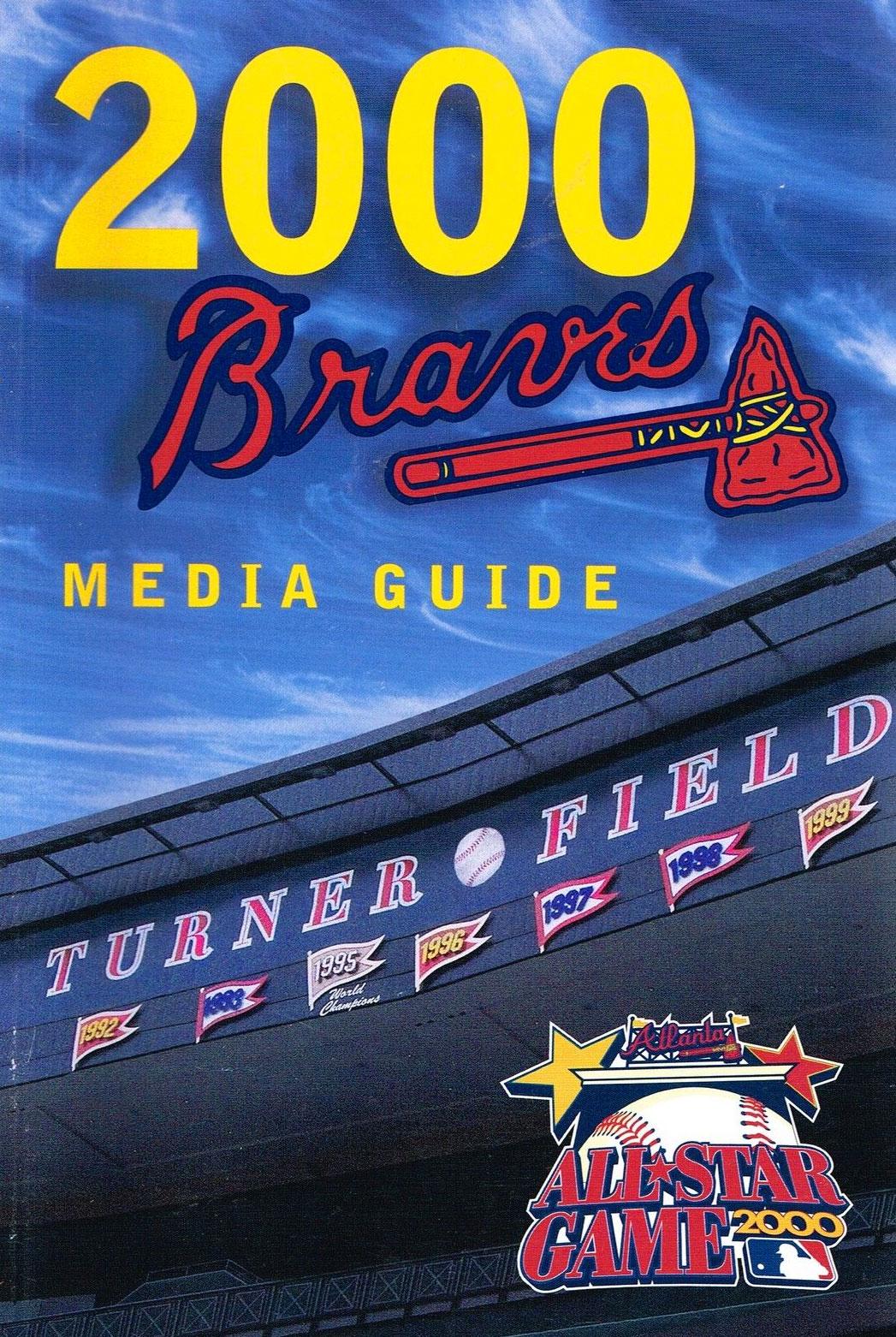 Atlanta Braves Media Guide Media Guide (2000) -  SportsLogos.Net