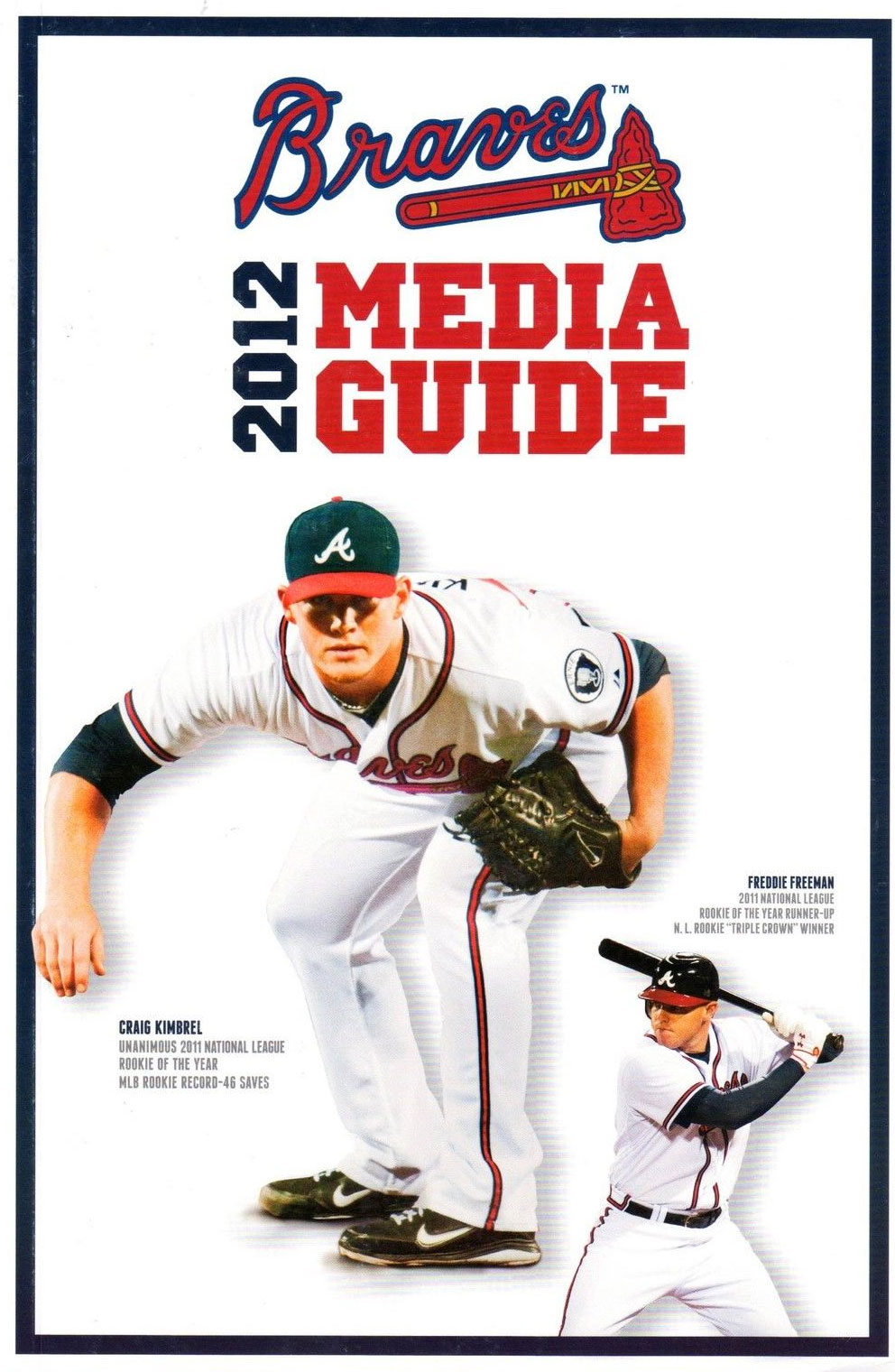 Atlanta Braves Media Guide Media Guide (2012) -  SportsLogos.Net