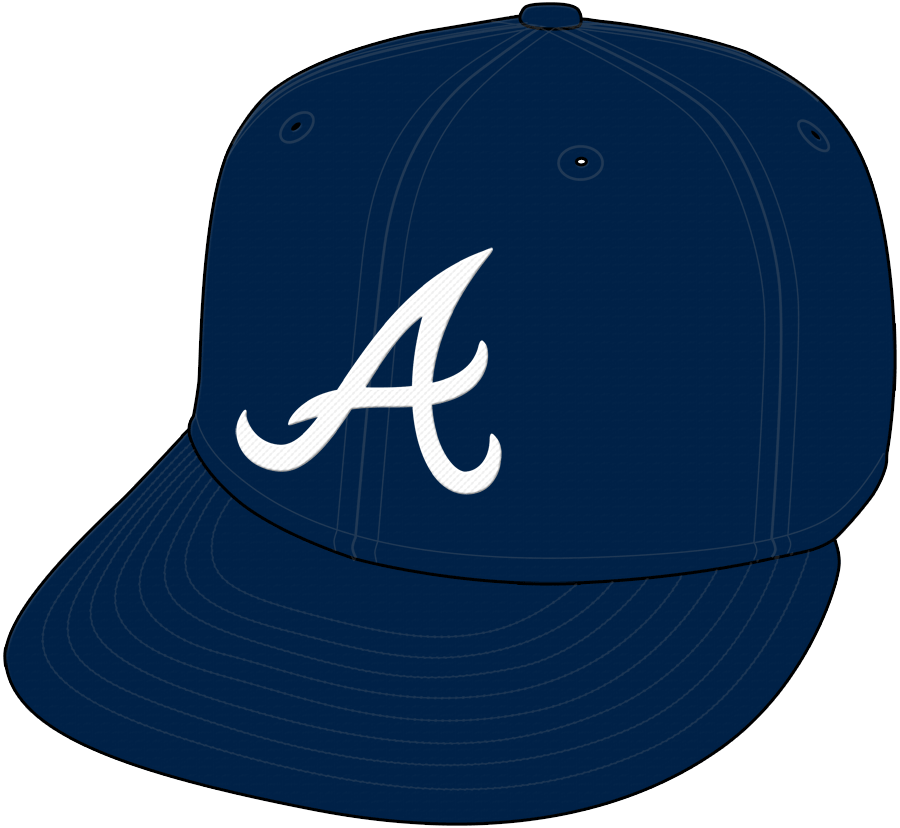 Atlanta Braves Cap Cap (1968-1971) - Road Only 1968 SportsLogos.Net