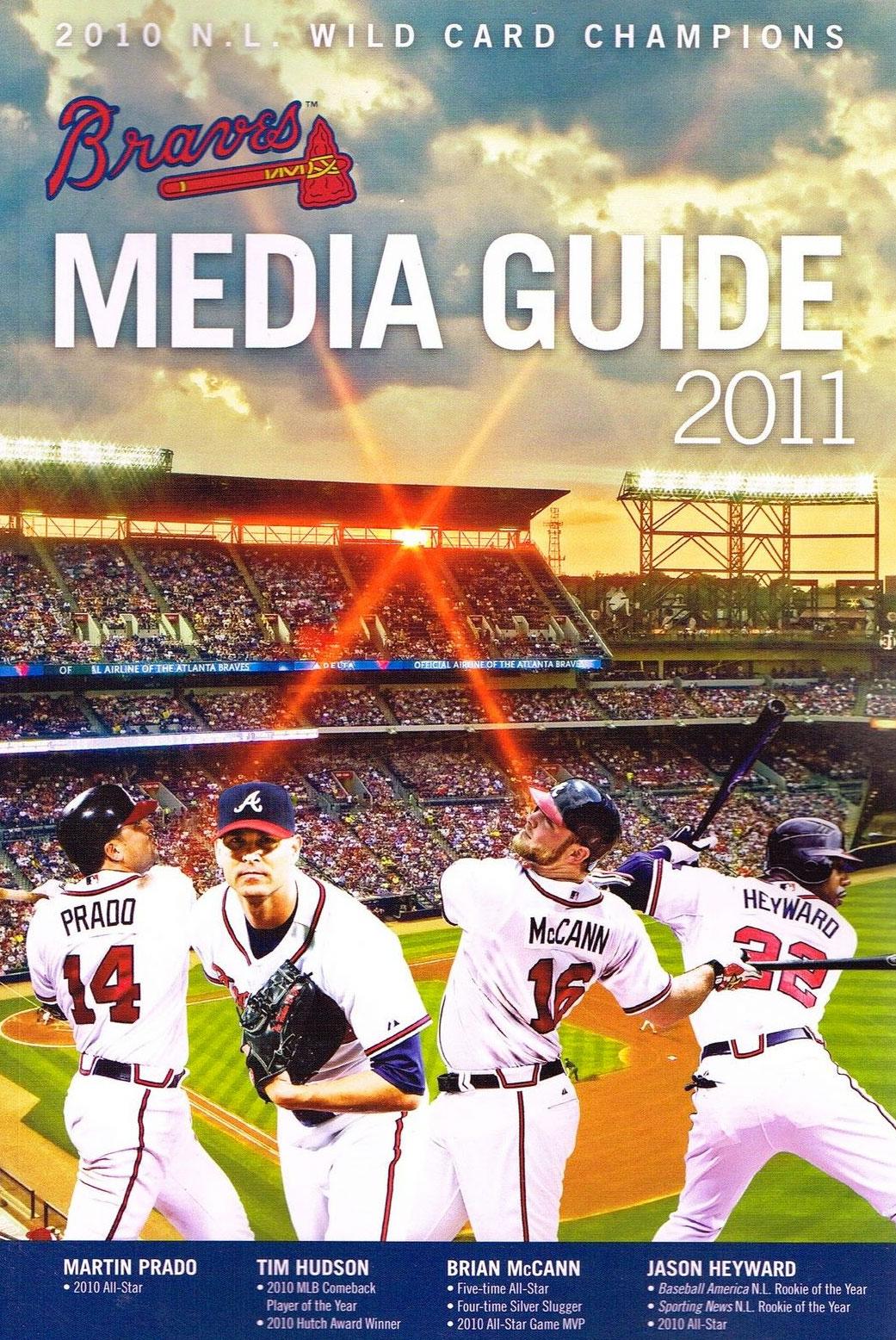 Atlanta Braves Media Guide Media Guide (2011) -  SportsLogos.Net