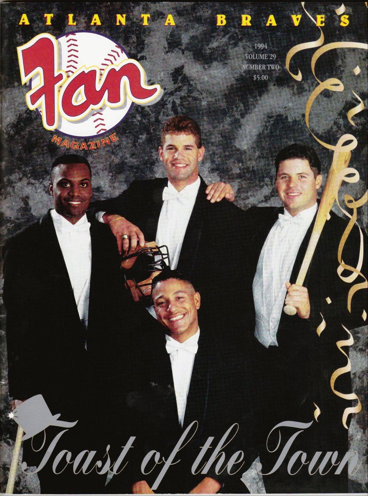 Atlanta Braves Program Program (1994) -  SportsLogos.Net