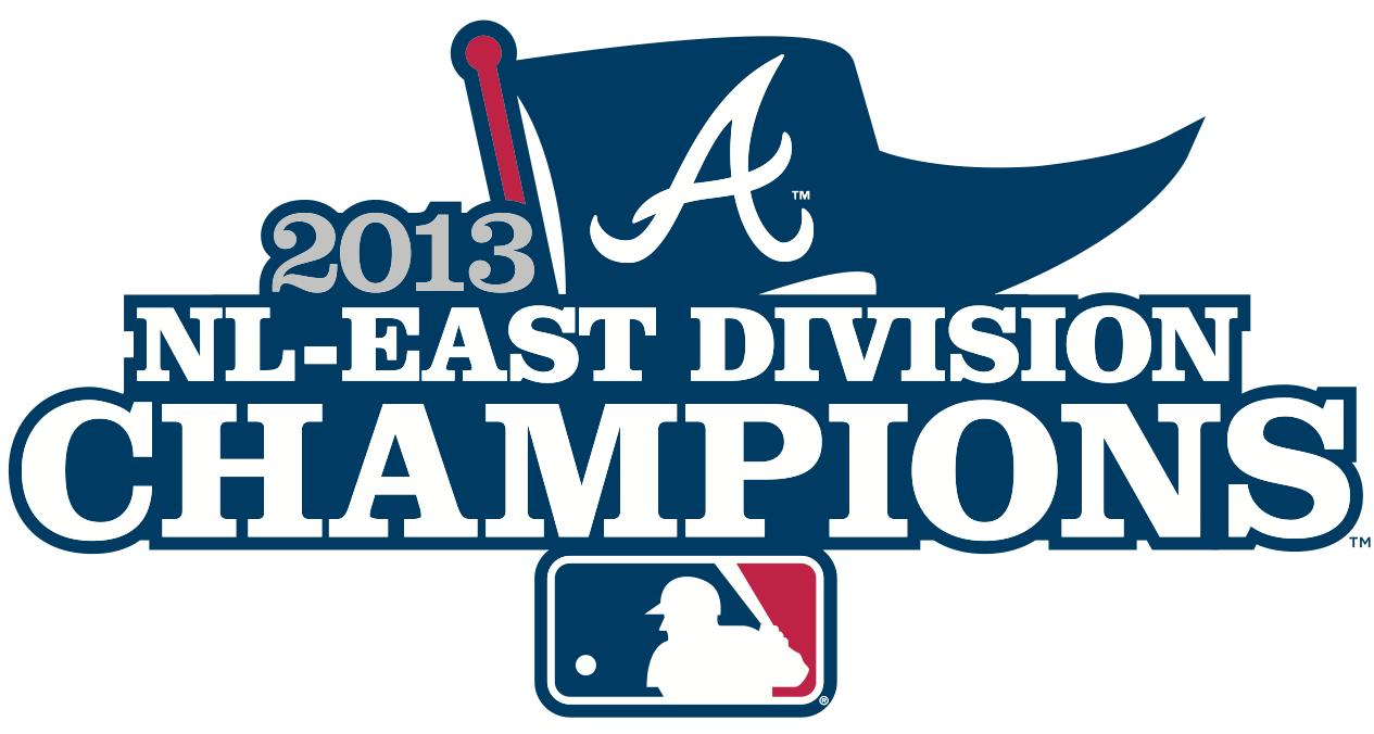 Atlanta Braves Logo Champion Logo (2013) - Atlanta Braves 2013 NL East Division Champions Logo SportsLogos.Net