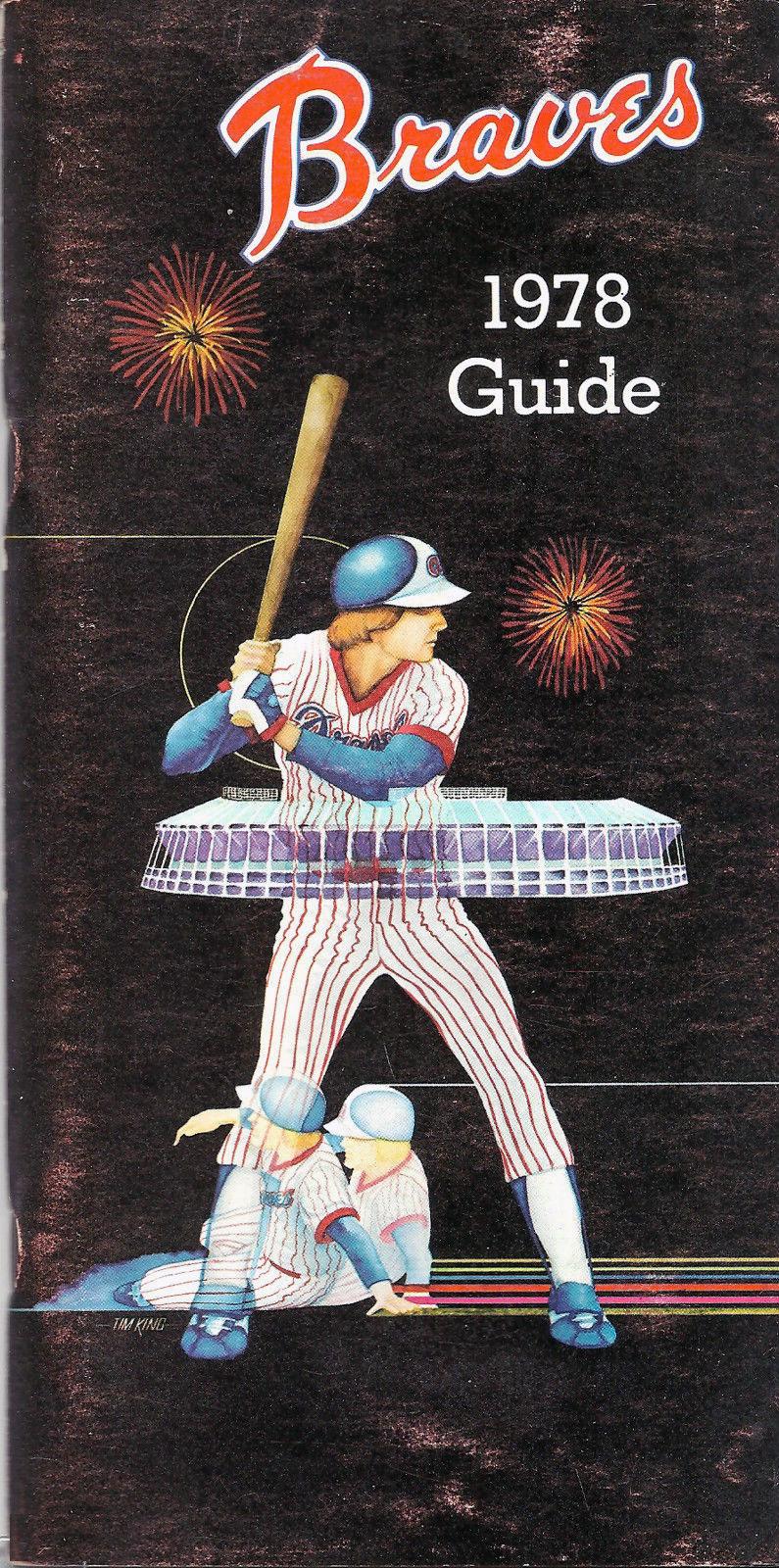 Atlanta Braves Media Guide Media Guide (1978) -  SportsLogos.Net