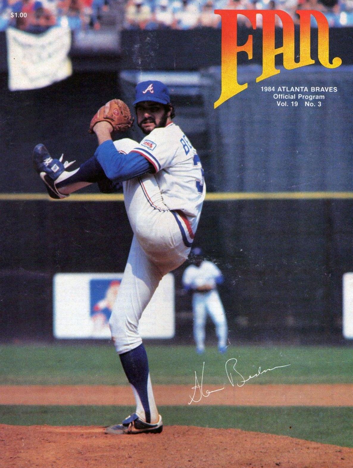 Atlanta Braves Program Program (1984) -  SportsLogos.Net