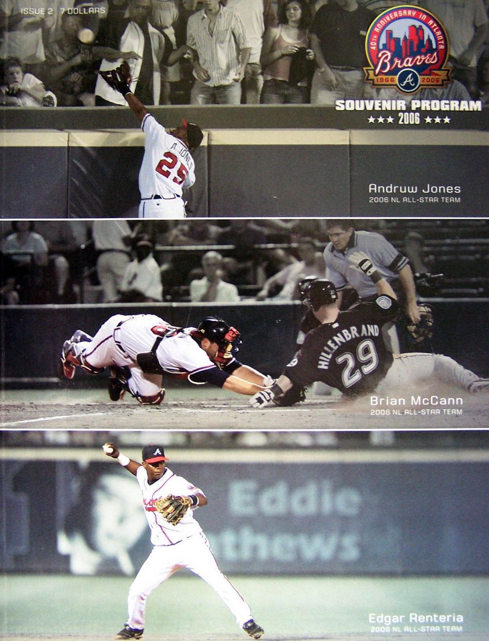 Atlanta Braves Program Program (2006) -  SportsLogos.Net