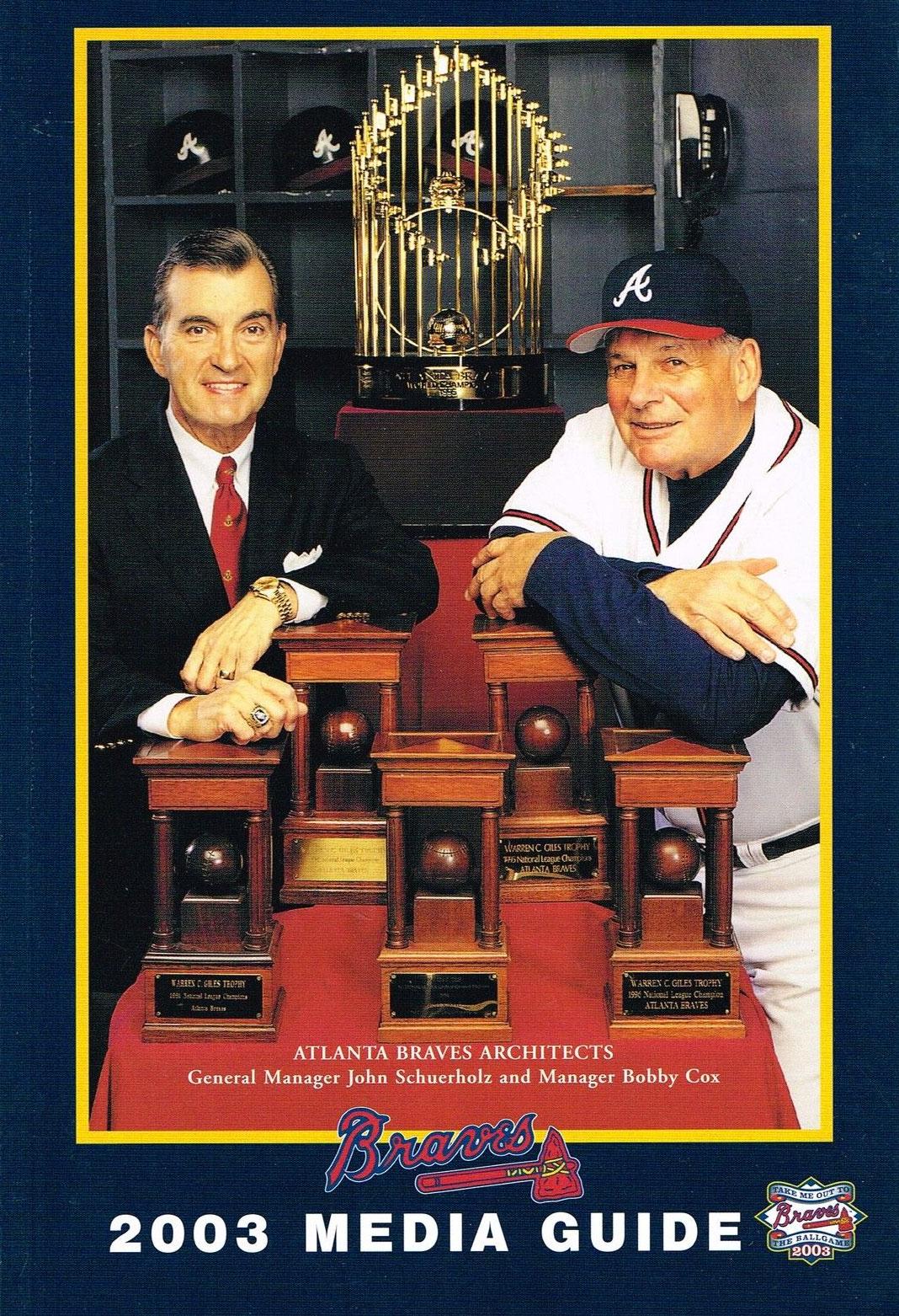 Atlanta Braves Media Guide Media Guide (2003) -  SportsLogos.Net