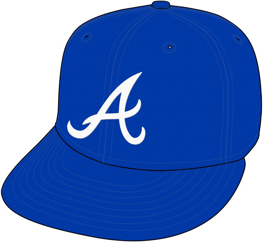 Atlanta Braves Cap Cap (1981-1986) - Road Only 1981-84 SportsLogos.Net