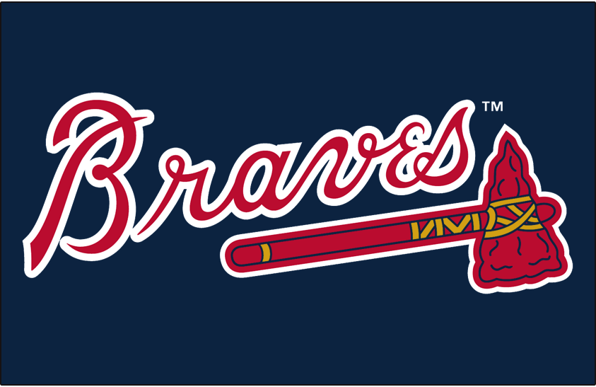 Atlanta Braves Logo Primary Dark Logo (2018-Pres) -  SportsLogos.Net
