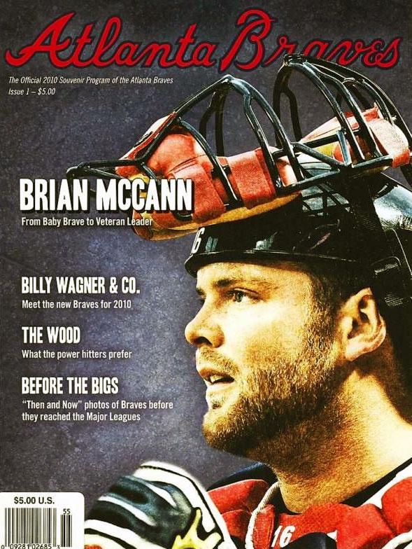 Atlanta Braves Program Program (2010) -  SportsLogos.Net