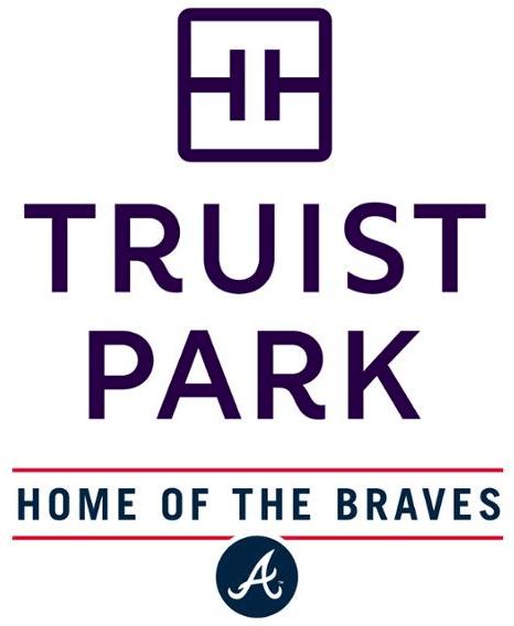 Atlanta Braves Logo Stadium Logo (2020-Pres) - Truist Park logo, home stadium of the Atlanta Braves. New name for SunTrust Park starting with 2020 season SportsLogos.Net
