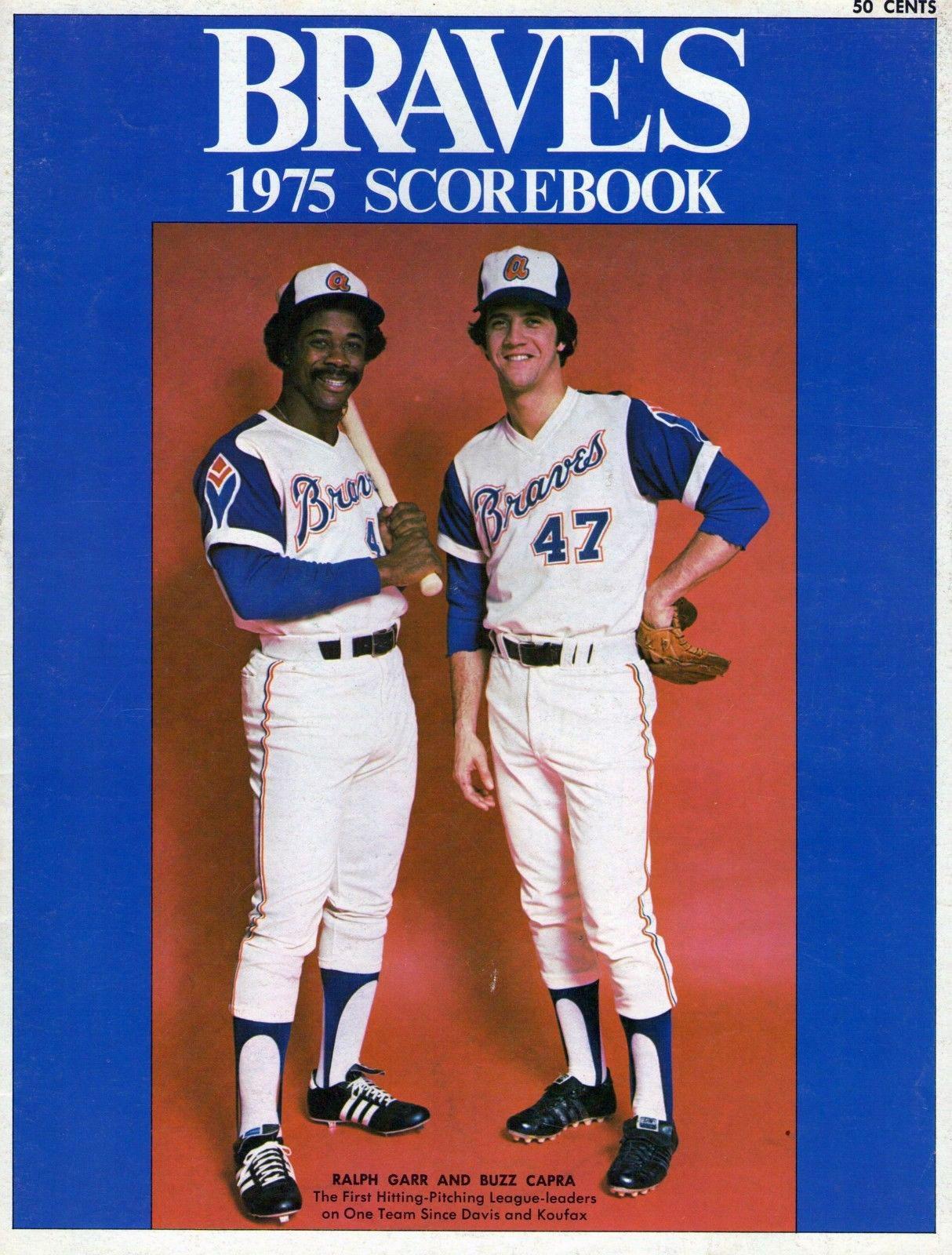 Atlanta Braves Program Program (1975) -  SportsLogos.Net