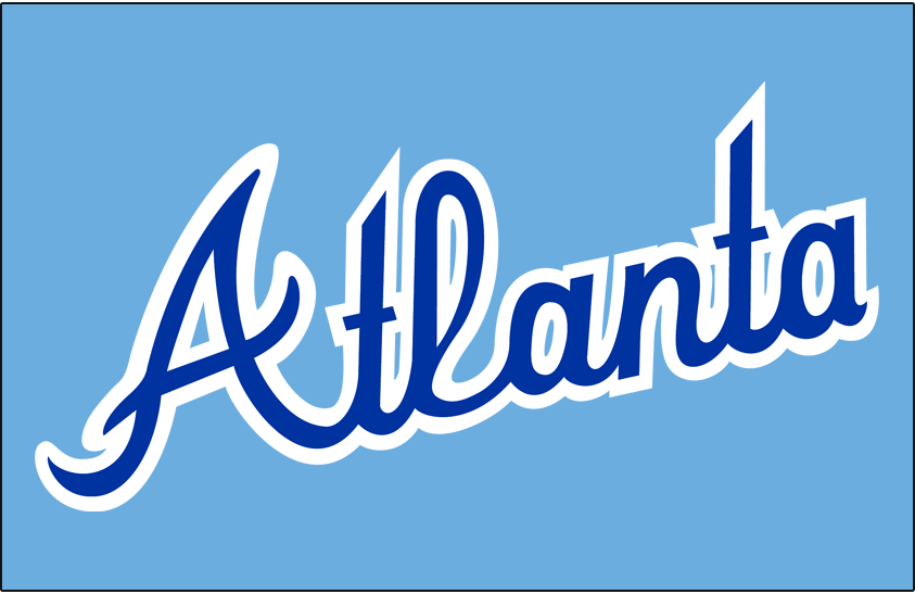 Atlanta Braves Logo Jersey Logo (1981-1986) -