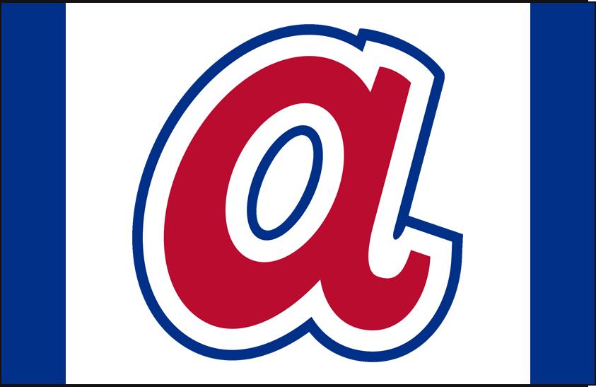 atlanta braves cap logo national league nl chris creamer s