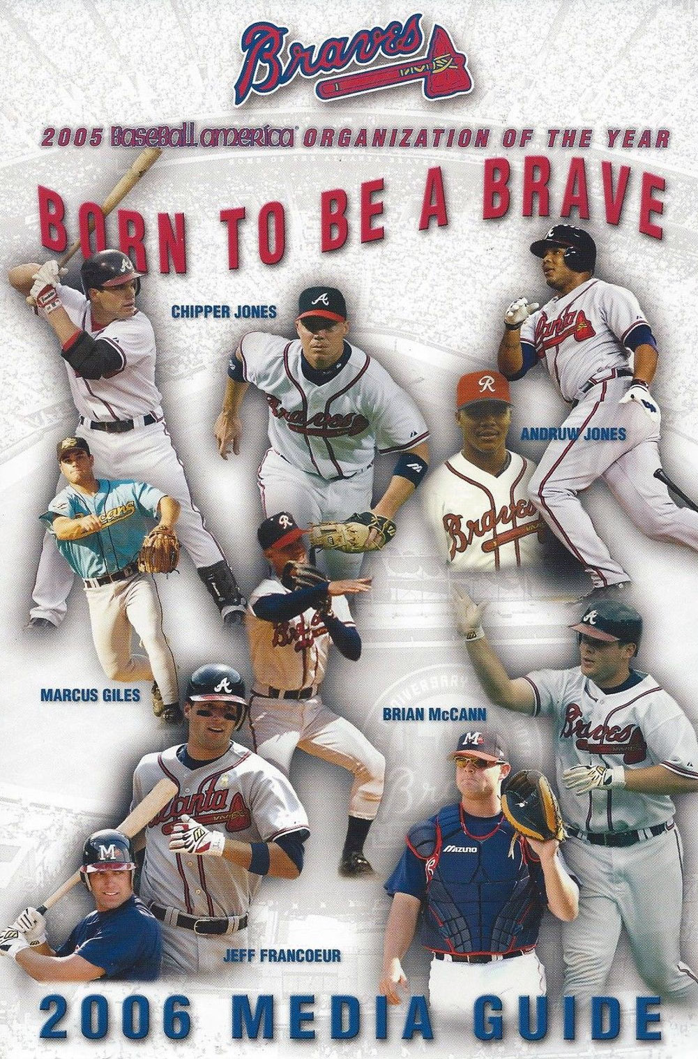 Atlanta Braves Media Guide Media Guide (2006) -  SportsLogos.Net