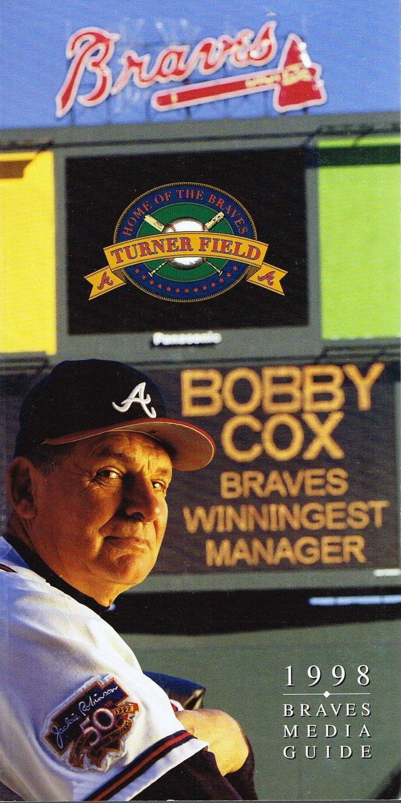 Atlanta Braves Media Guide Media Guide (1998) -  SportsLogos.Net