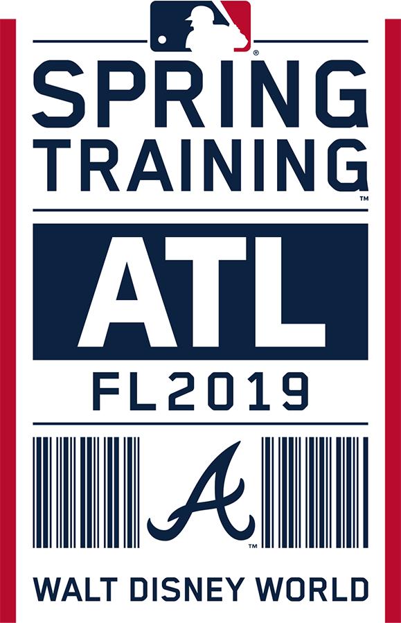 Atlanta Braves Logo Event Logo (2019) - Atlanta Braves 2019 Spring Training Logo SportsLogos.Net