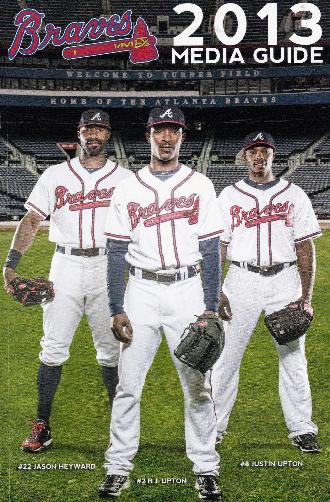 Atlanta Braves Media Guide Media Guide (2013) -  SportsLogos.Net