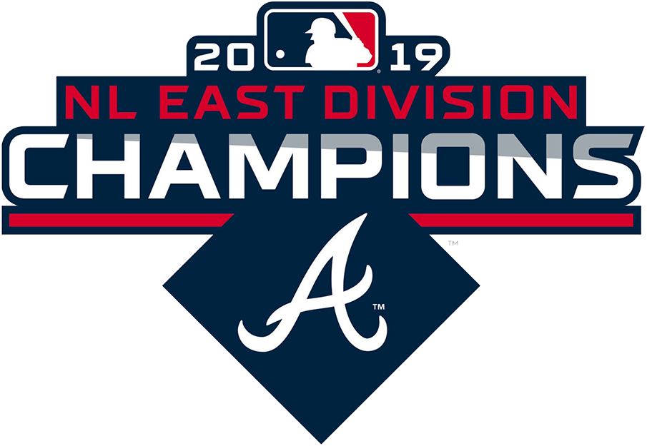 Atlanta Braves Logo Champion Logo (2019) - Atlanta Braves 2019 NL East Division Champions Logo SportsLogos.Net