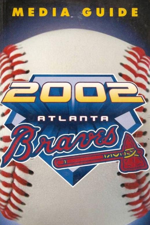 Atlanta Braves Media Guide Media Guide (2002) -  SportsLogos.Net