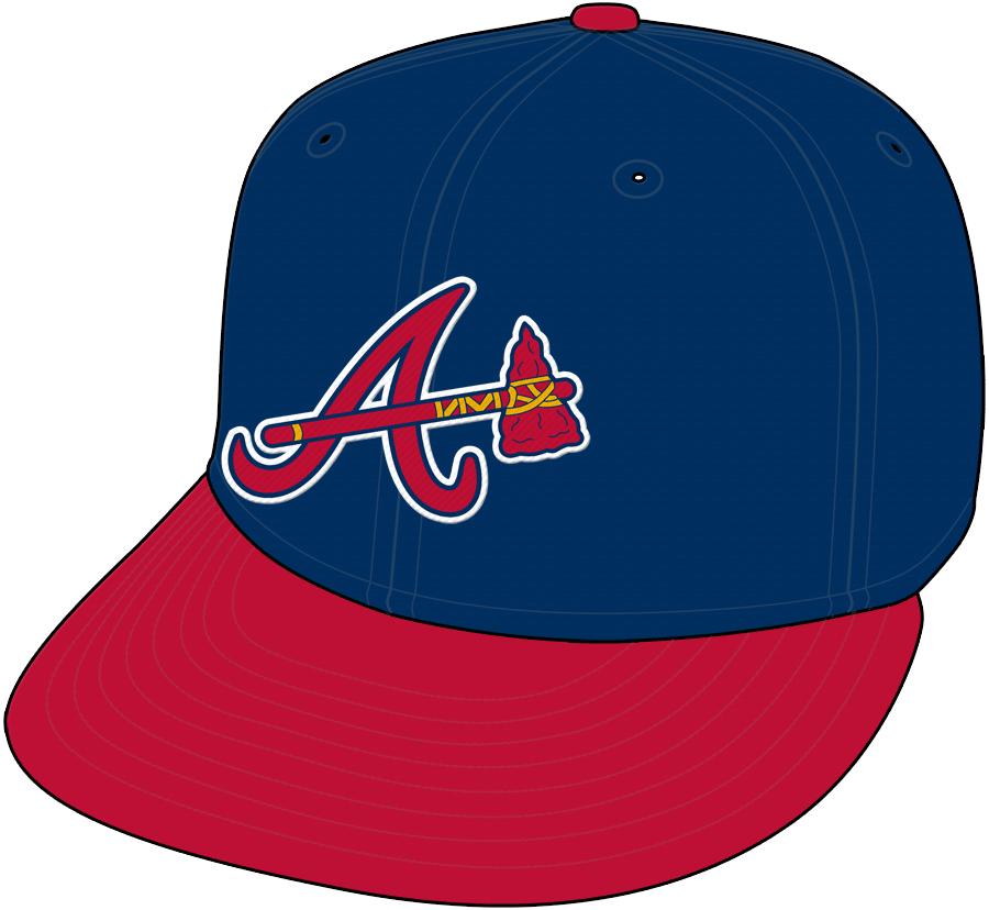 Atlanta Braves Cap Cap (2007-2017) - Alternate Cap SportsLogos.Net