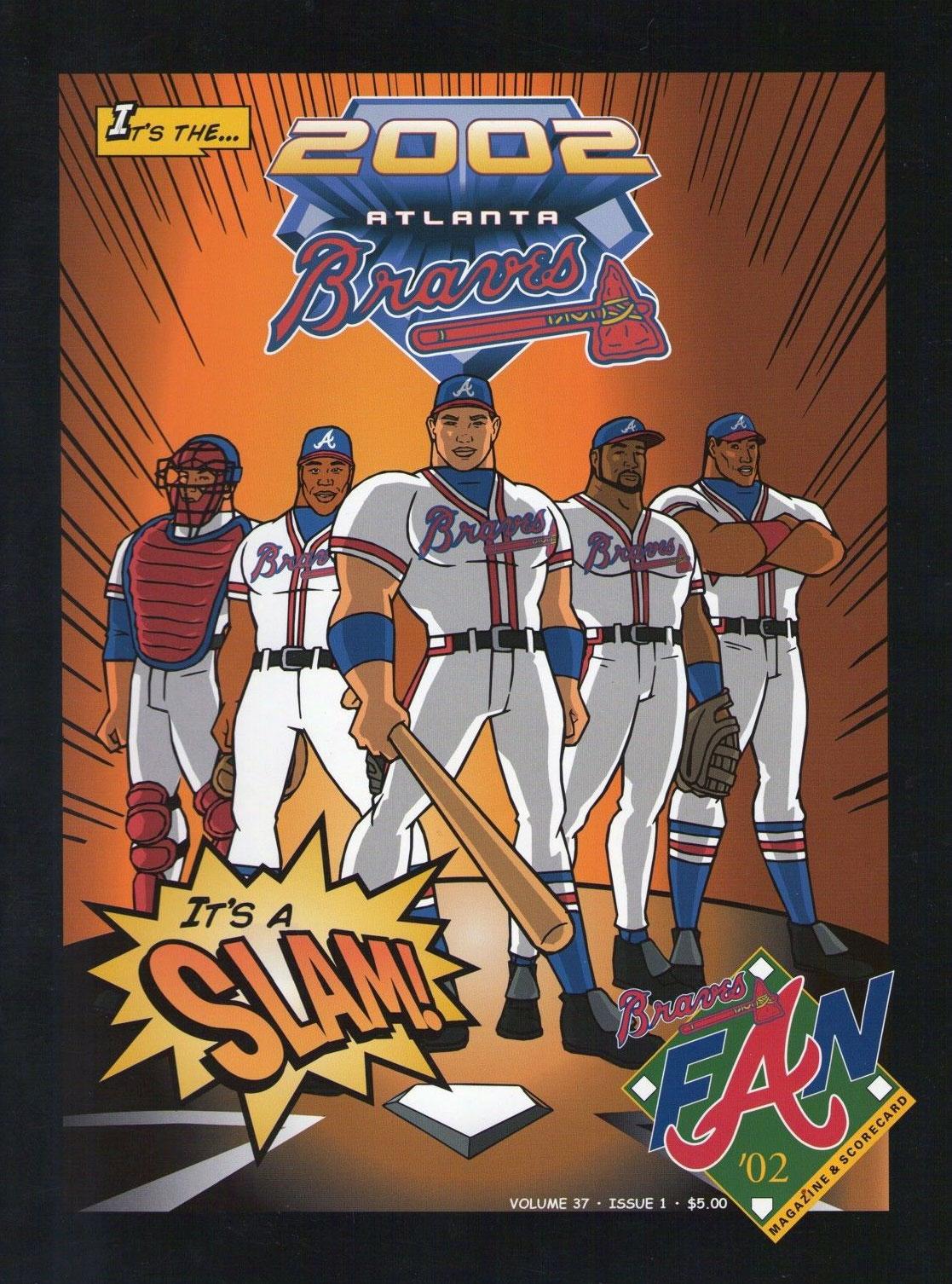 Atlanta Braves Program Program (2002) -  SportsLogos.Net