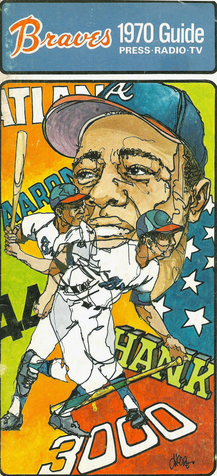 Atlanta Braves Media Guide Media Guide (1970) -  SportsLogos.Net