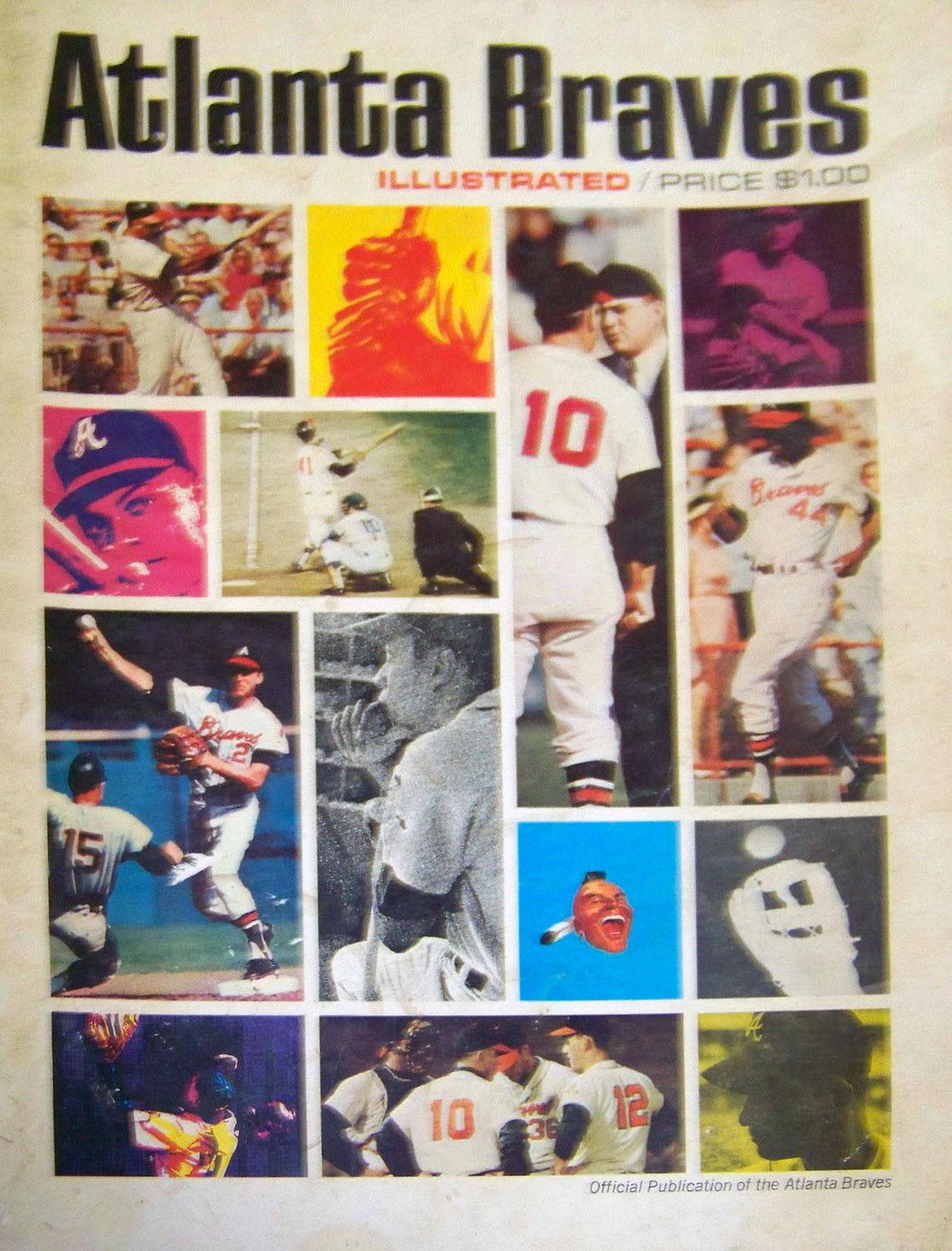 Atlanta Braves Program Program (1966) -  SportsLogos.Net
