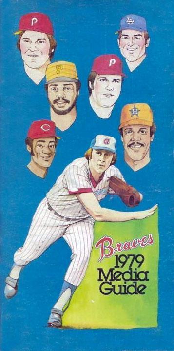 Atlanta Braves Media Guide Media Guide (1979) -  SportsLogos.Net