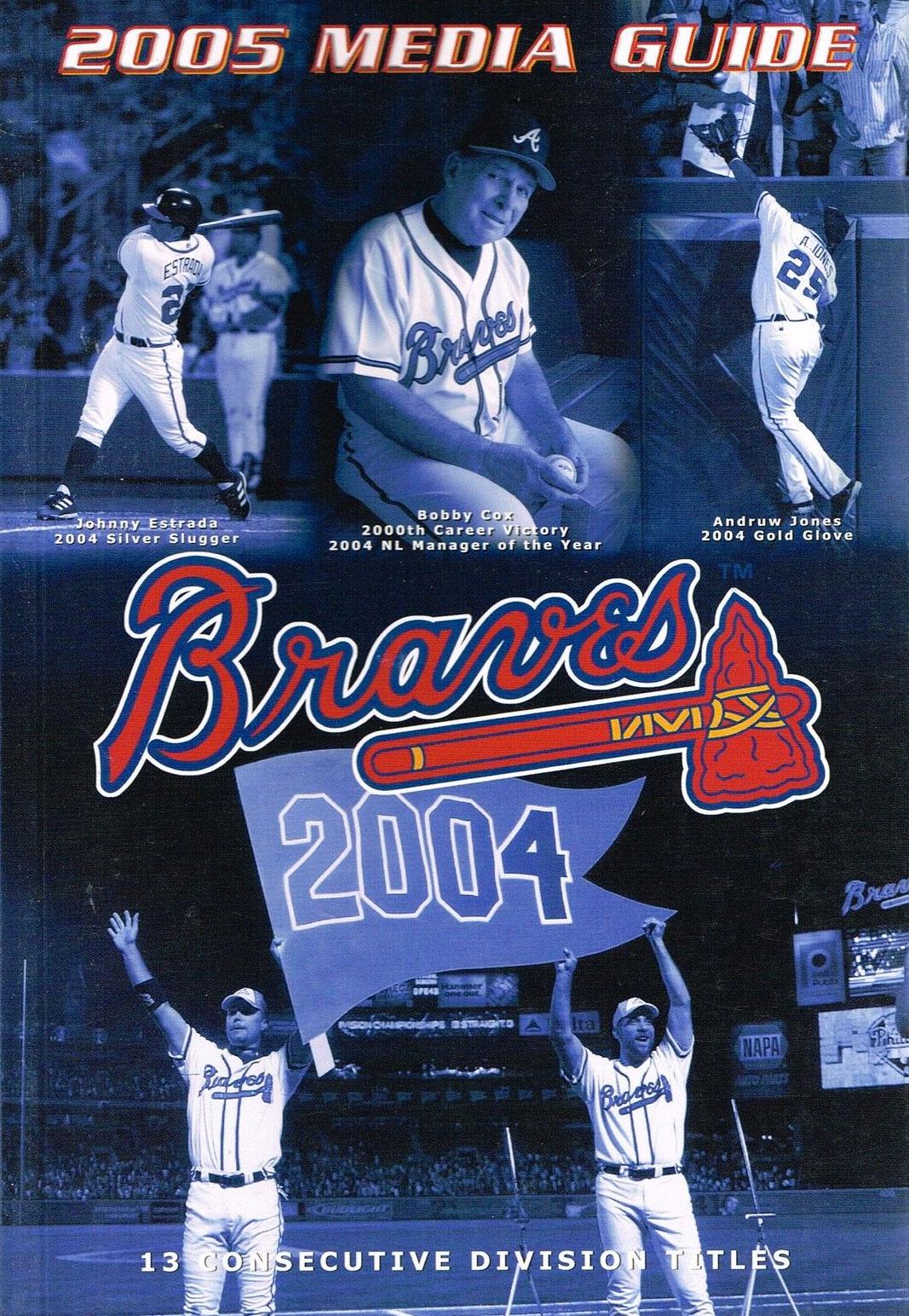 Atlanta Braves Media Guide Media Guide (2005) -  SportsLogos.Net