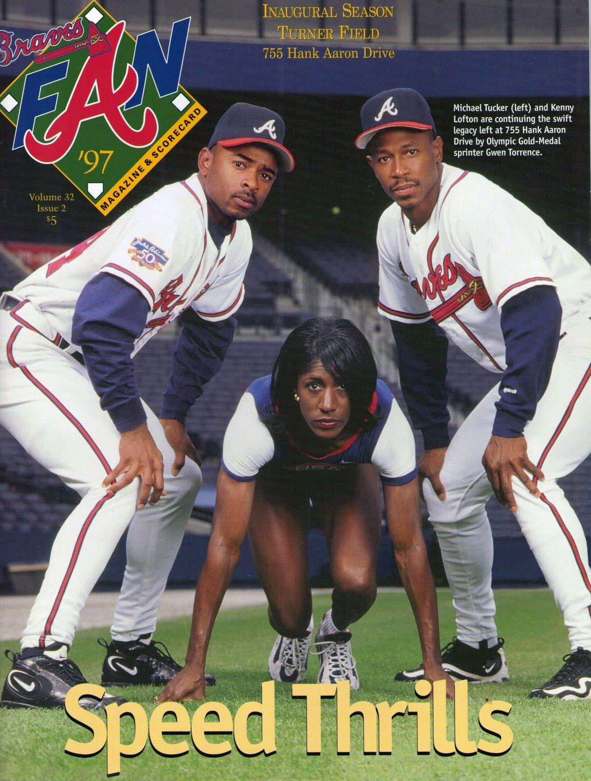 Atlanta Braves Program Program (1997) -  SportsLogos.Net