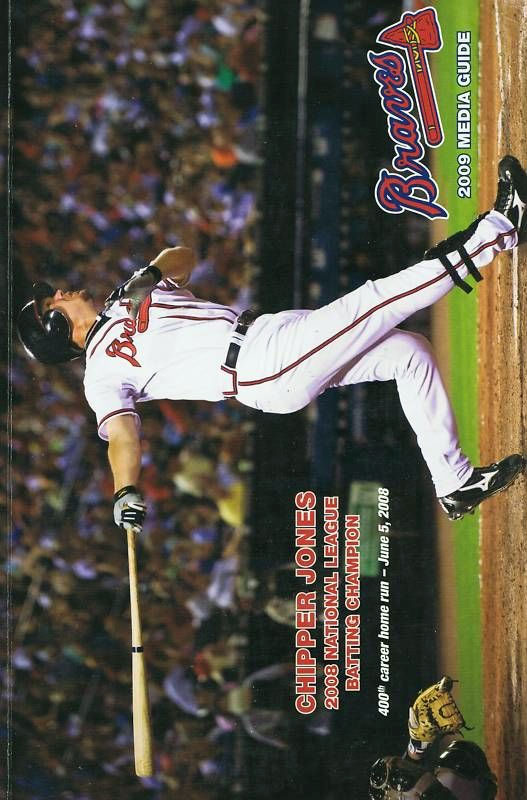 Atlanta Braves Media Guide Media Guide (2009) -  SportsLogos.Net