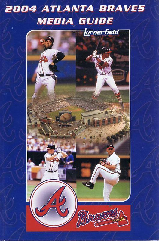Atlanta Braves Media Guide Media Guide (2004) -  SportsLogos.Net