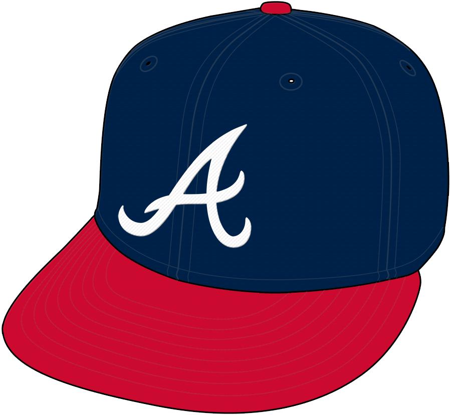 Atlanta Braves Cap Cap (1966-1968) - Home Only 1968 SportsLogos.Net