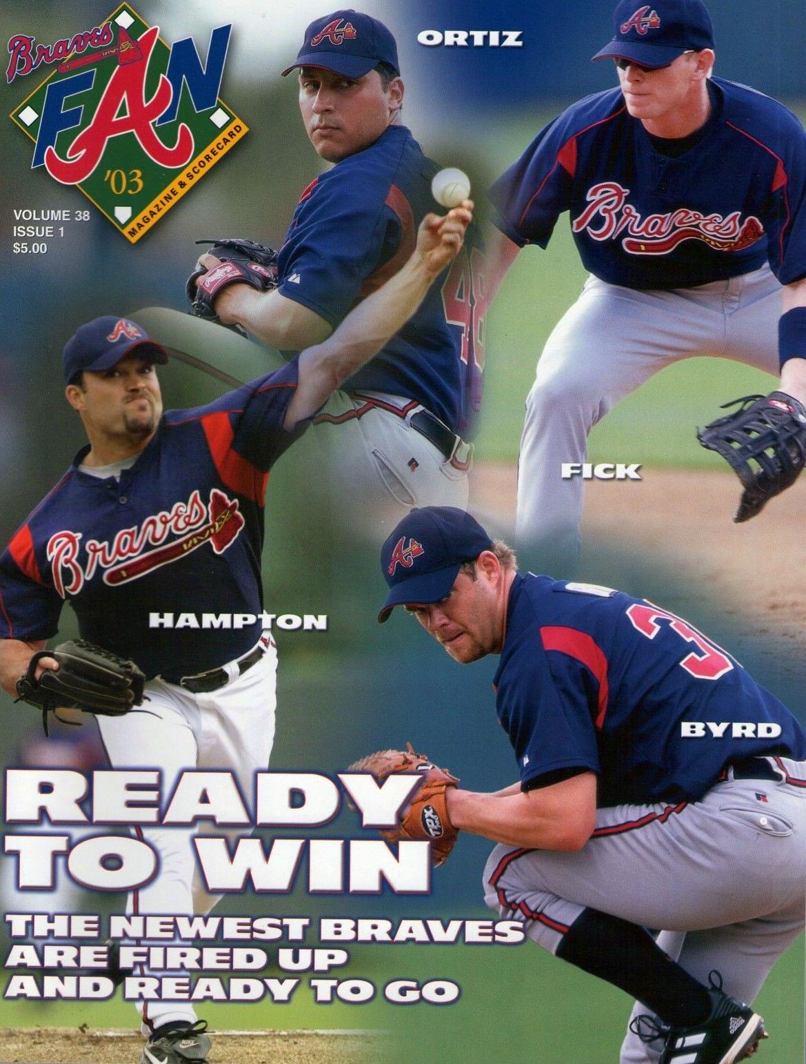 Atlanta Braves Program Program (2003) -  SportsLogos.Net