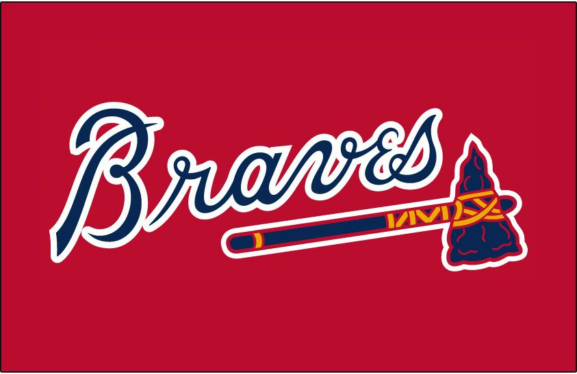 atlanta braves jersey logo national league nl chris creamer s rh sportslogos net Atlanta Braves Retro Logo atlanta braves logo font download