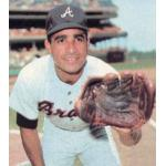 Atlanta Braves (1970) Felix Millan wearing the Atlanta Braves road uniform during the 1970 season