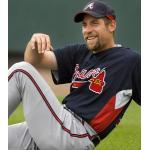 Atlanta Braves (2007) John Smoltz wearing the Atlanta Braves batting practice uniform during Spring Training 2007