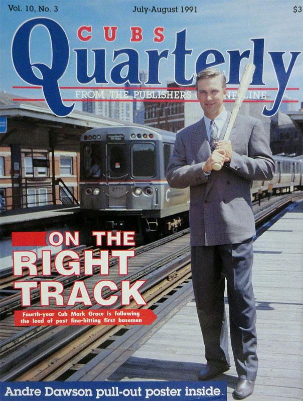 Chicago Cubs Program Program (1991) -  SportsLogos.Net