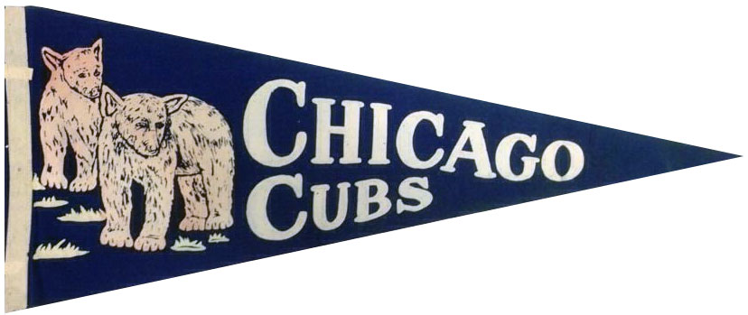 Chicago Cubs Pennant Pennant (1945) -  SportsLogos.Net
