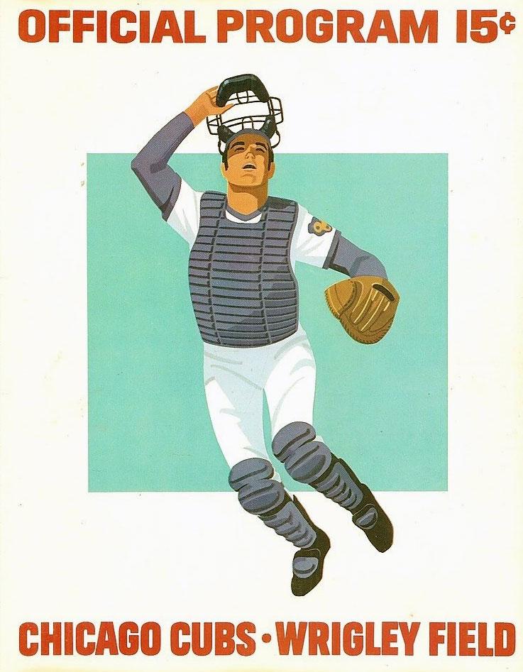 Chicago Cubs Program Program (1973) -  SportsLogos.Net