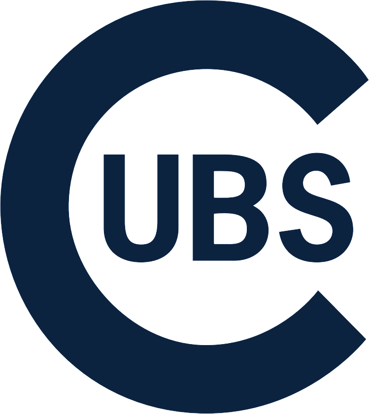 Chicago Cubs Logo Alternate Logo (1909-1910) - Large navy blue C with UBS written inside of it, worn on the Chicago Cubs road uniform from 1909-10 SportsLogos.Net