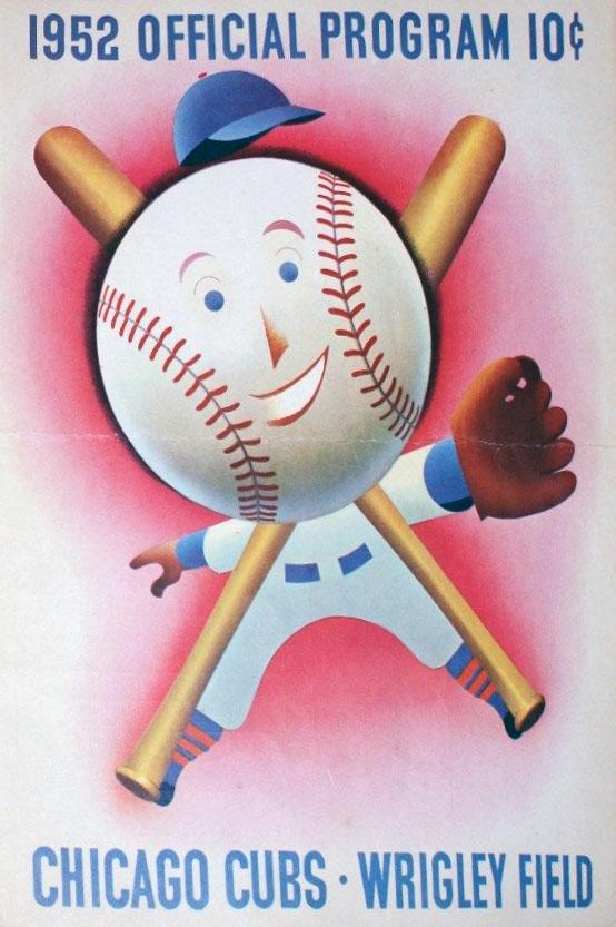 Chicago Cubs Program Program (1952) -  SportsLogos.Net