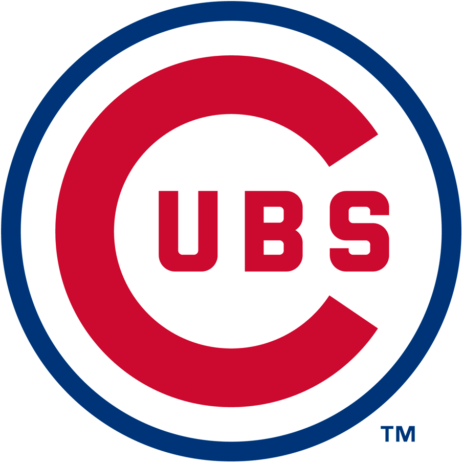 Chicago Cubs Logo Primary Logo (1957-1978) - Large red C in Cubs inside a thin blue cicle SportsLogos.Net