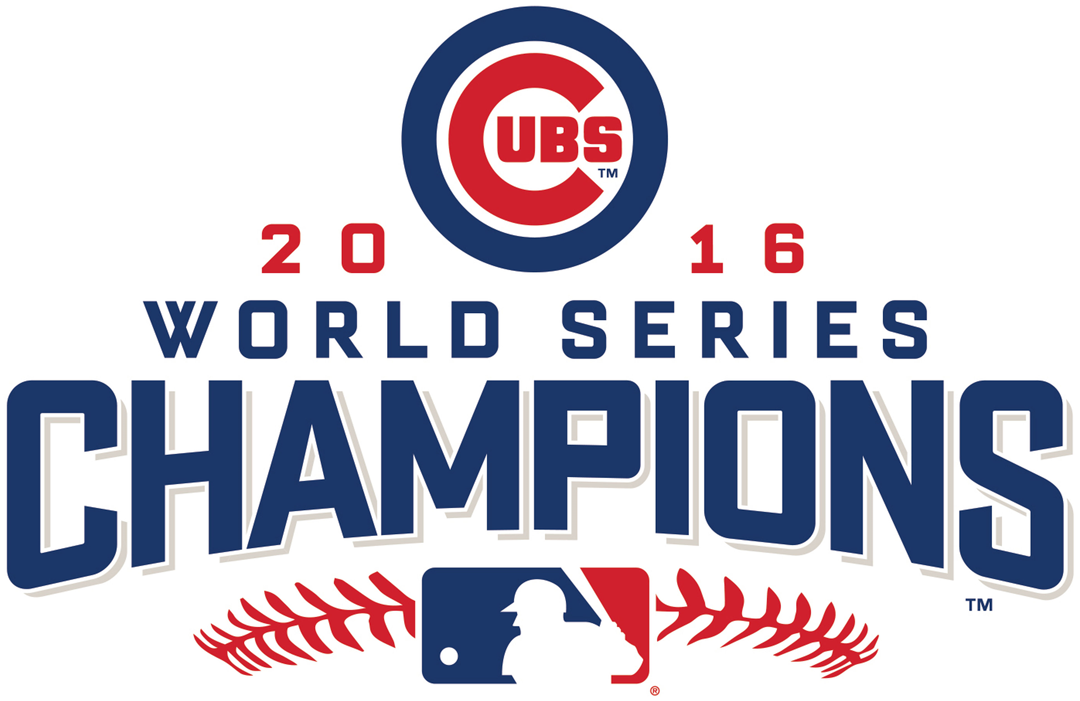 Chicago Cubs Logo Champion Logo (2016) - Cubs 2016 World Series Champions logo SportsLogos.Net