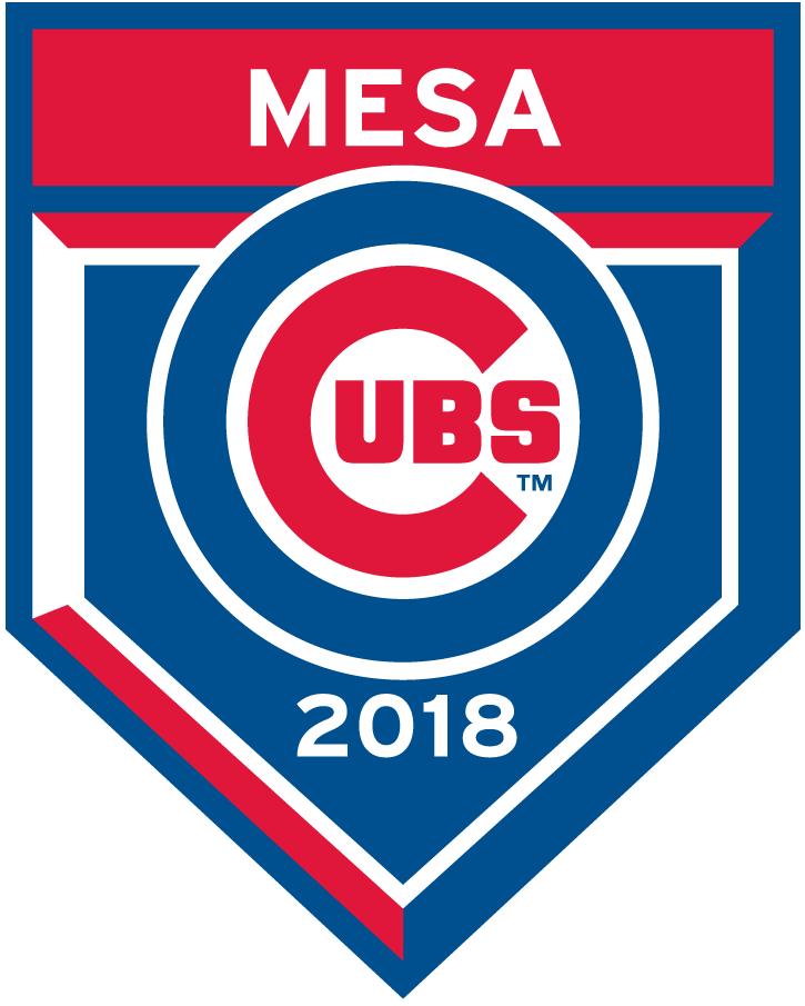Chicago Cubs Logo Event Logo (2018) - Chicago Cubs 2018 Spring Training Logo SportsLogos.Net