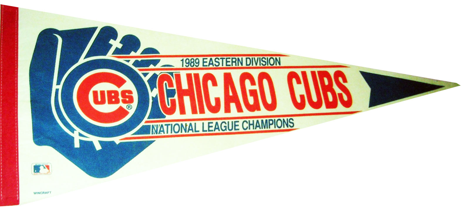 Chicago Cubs Pennant Pennant (1989) - 1989 NL East Champs pennant SportsLogos.Net