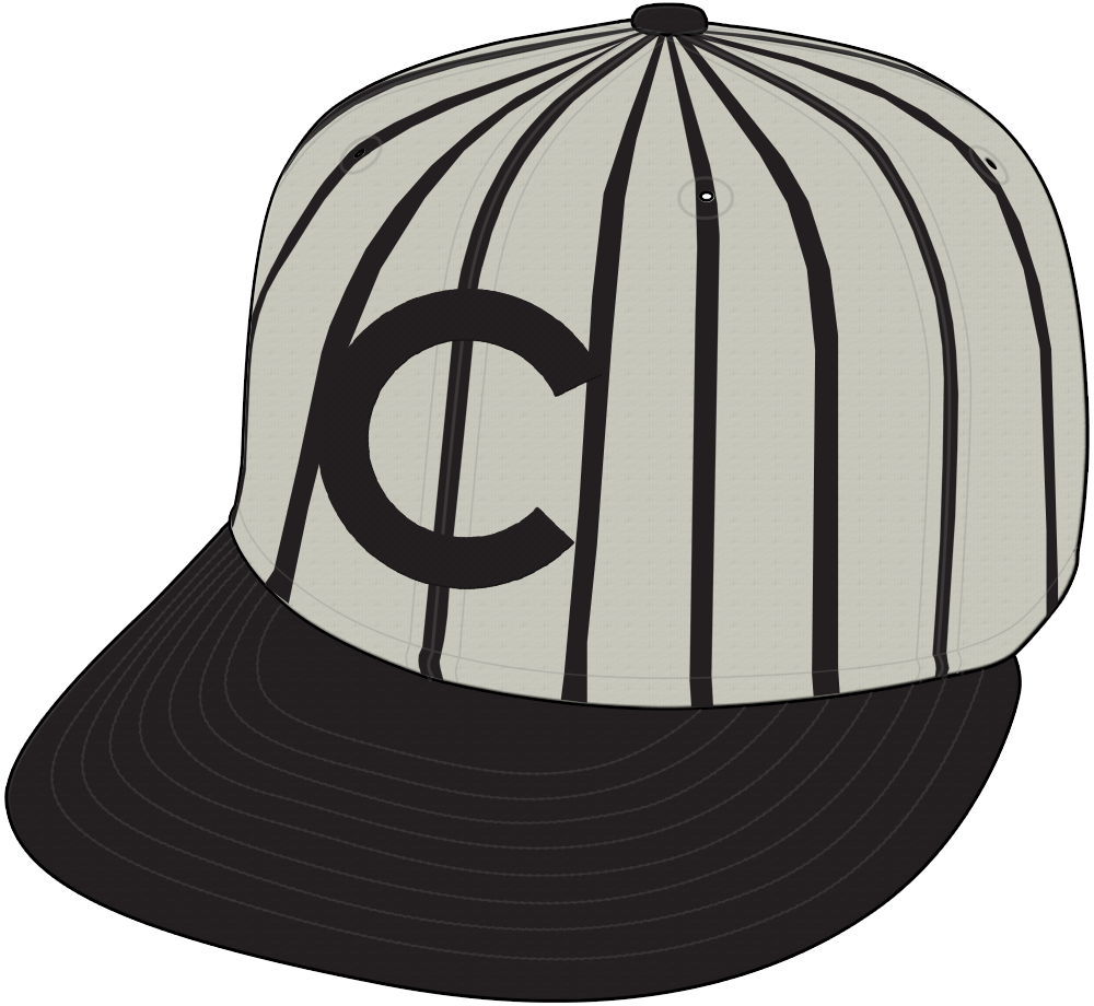 Chicago Cubs Cap Cap (1908-1910) - Cap worn by the Chicago Cubs during road games from 1908 through 1910 SportsLogos.Net