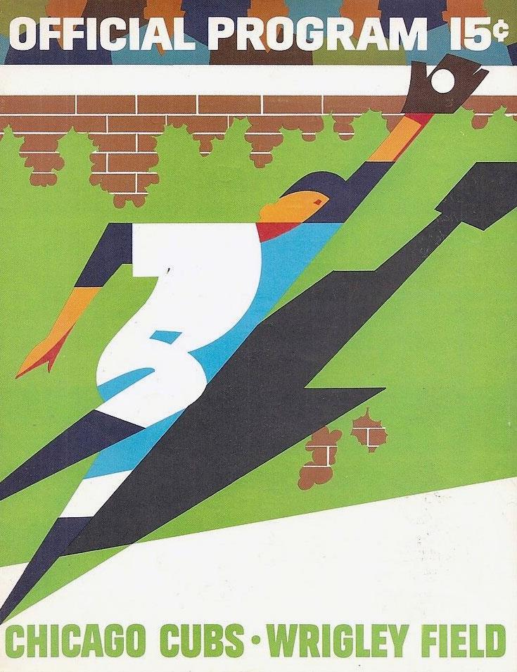 Chicago Cubs Program Program (1968) -  SportsLogos.Net